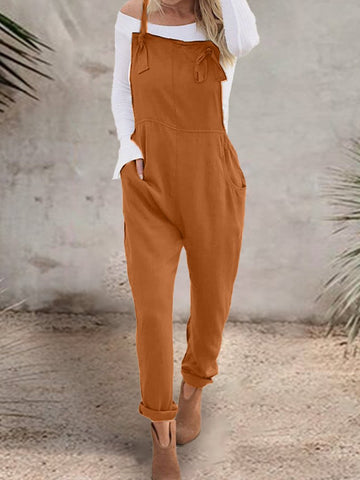 Military Button Jumpsuit