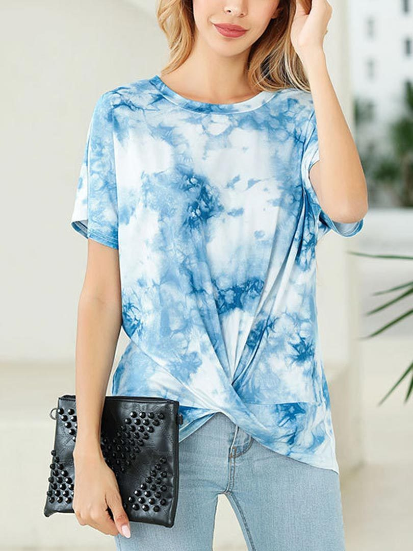 Tie-dye Kink Short Sleeves T-shirt