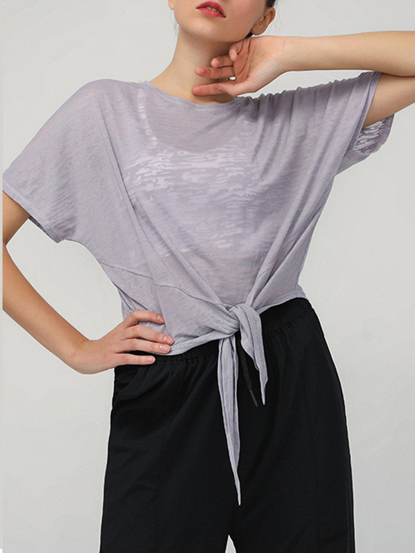 Loose Style Breathable Quick Dry Yoga Top