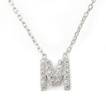 "Mini Alphabet "" M "" Necklace"