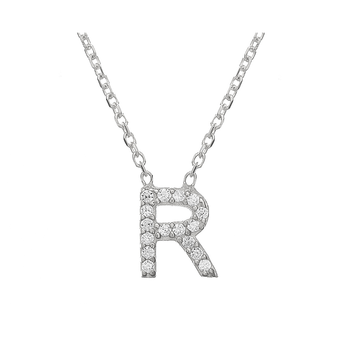 "Mini Alphabet "" R "" Necklace"