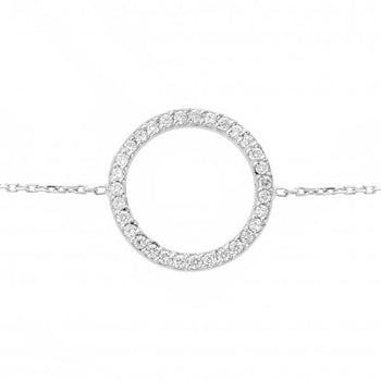 Circle of Life® Bracelet | 18 karat White Gold and Diamonds Bracelet
