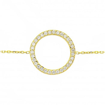 Diamond Circle of Life® Bracelet | 18 karat Yellow Gold