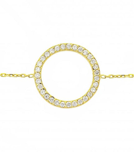 18CT SOLID GOLD BRACELETS
