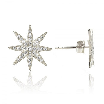 "Sun Stud Earrings From ""Lunch with the Stars"" Collection"