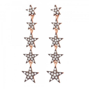 Star Drop Earrings for pierced ears || As seen in Sunday You Magazine