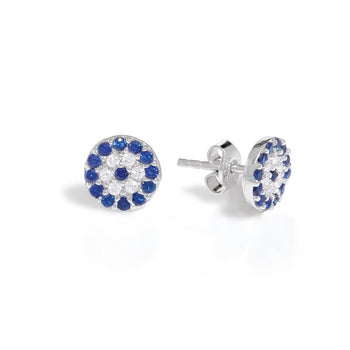 Evil Eye Studs - Mini Size