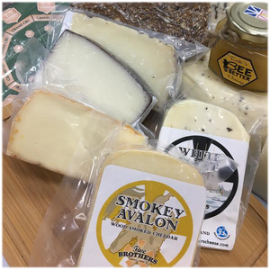 Deluxe Cheese Collection Gift Box - Five Brothers Artisan Cheese Inc