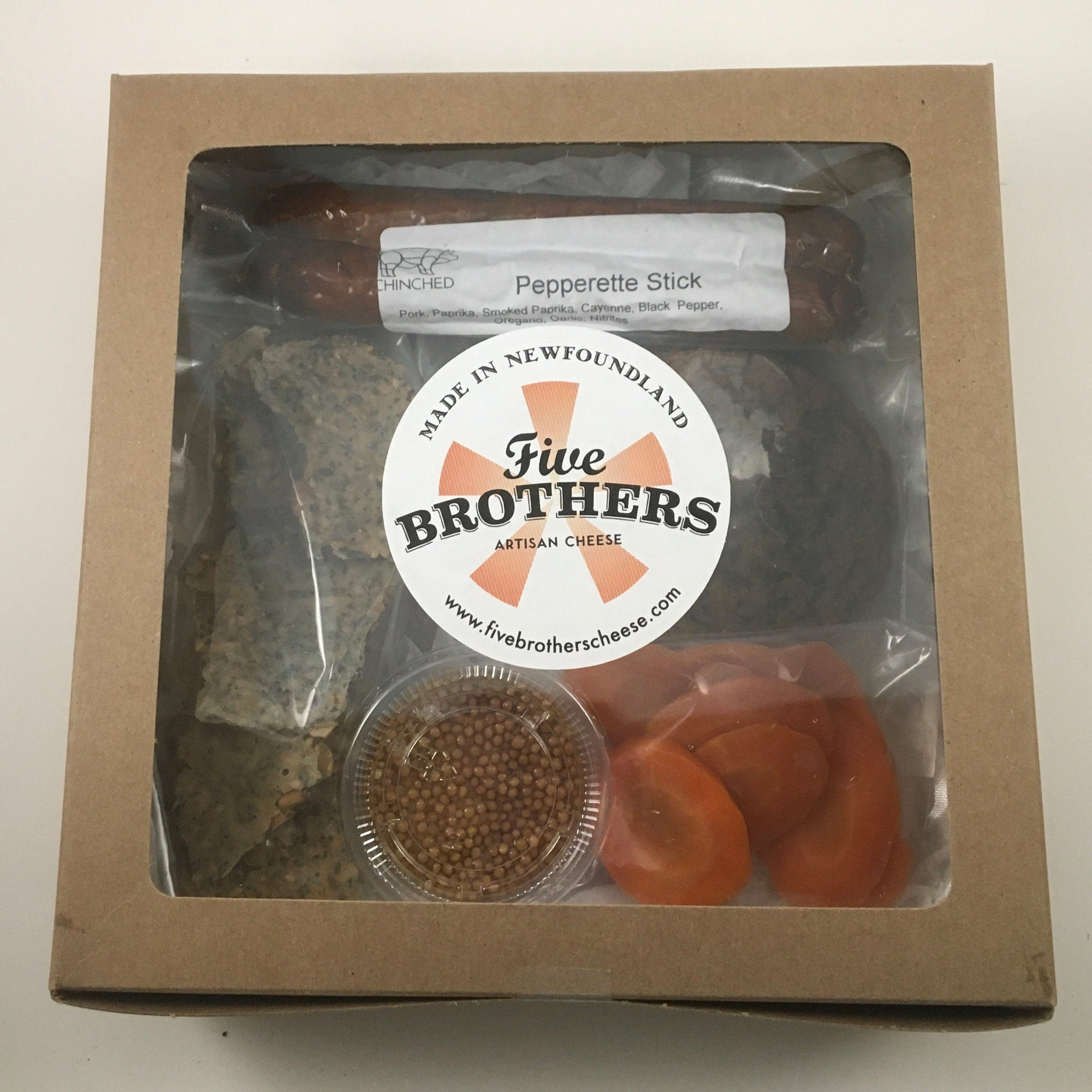 Chinched Meats and Rocket Bakery Bundle - Five Brothers Artisan Cheese Inc