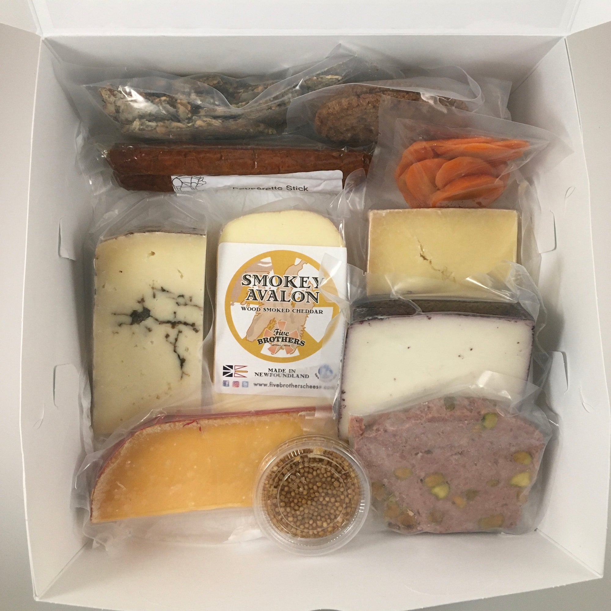 Celebration! Gift Box - Five Brothers Artisan Cheese Inc