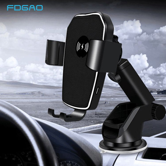 Car Charger Wireless Charger Dashboard Mount