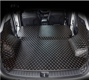 Full set car trunk mats  waterproof cargo liner