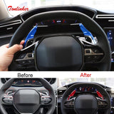 Tonlinker Interior Steering wheel Shift paddle Cover sticker