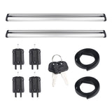 2PCS 120/130Cm Universal Car Roof Rack