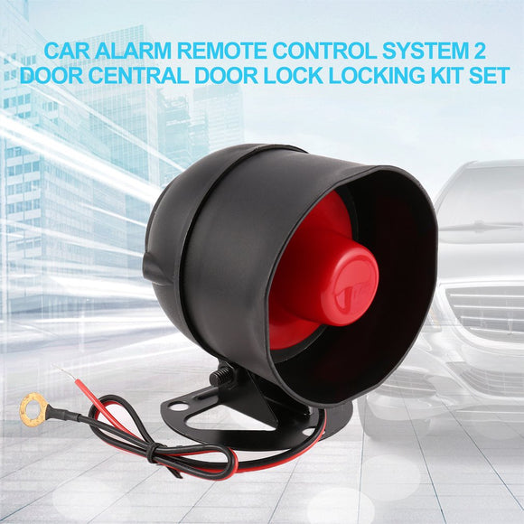 Profession  Universal Car Alarm Remote Control Security System 2 Door Central Door Lock Locking Kit Set Keyless Entry System
