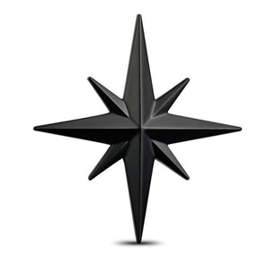 3D Metal Car Decoration Badge Star Emblem