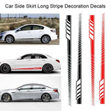 Racing Body Side Stripe Vinyl Decals For All Cars