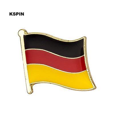 Germany Metal National Flag Brooch Pin