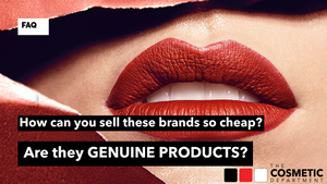 How can you sell these brands so cheap?  Are they genuine products?