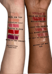 L'Oreal Infallible Long Wear Lip Gloss Product Swatches