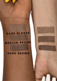 Maybelline Brow Drama Pomade Crayon Product Swatches