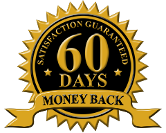 60-Day Money Back Guarantee Graphic