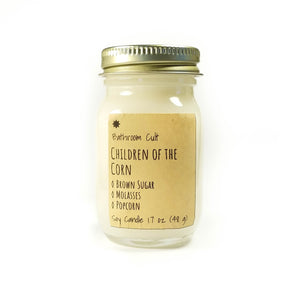 white soy wax mini candle