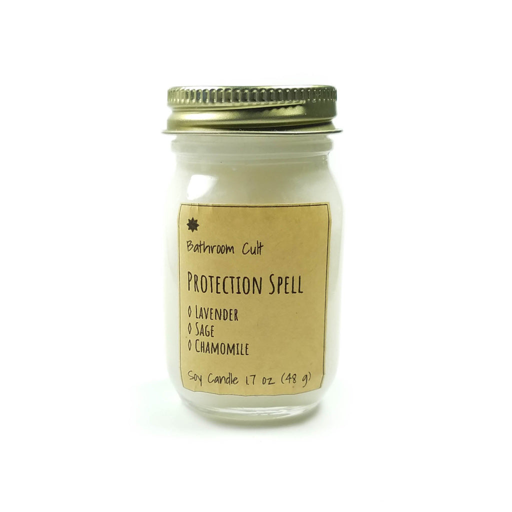 proection spell candle