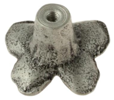 Antique Pewter Butterfly Knob