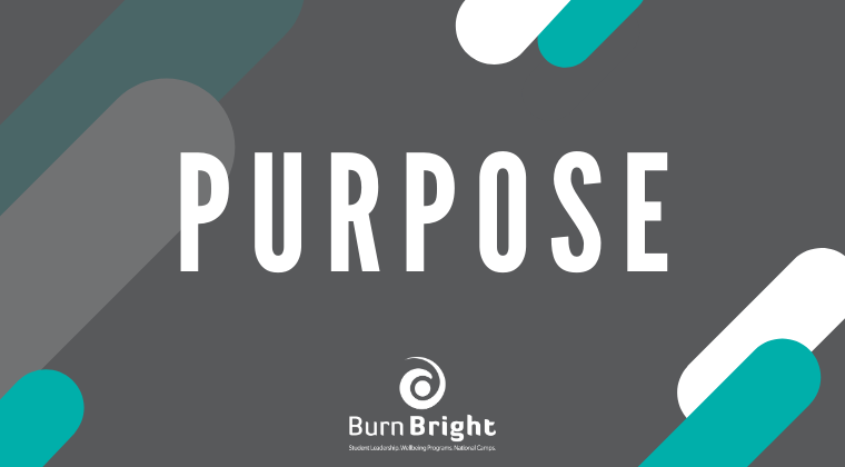 Purpose: Finding Your Why - Senior High School