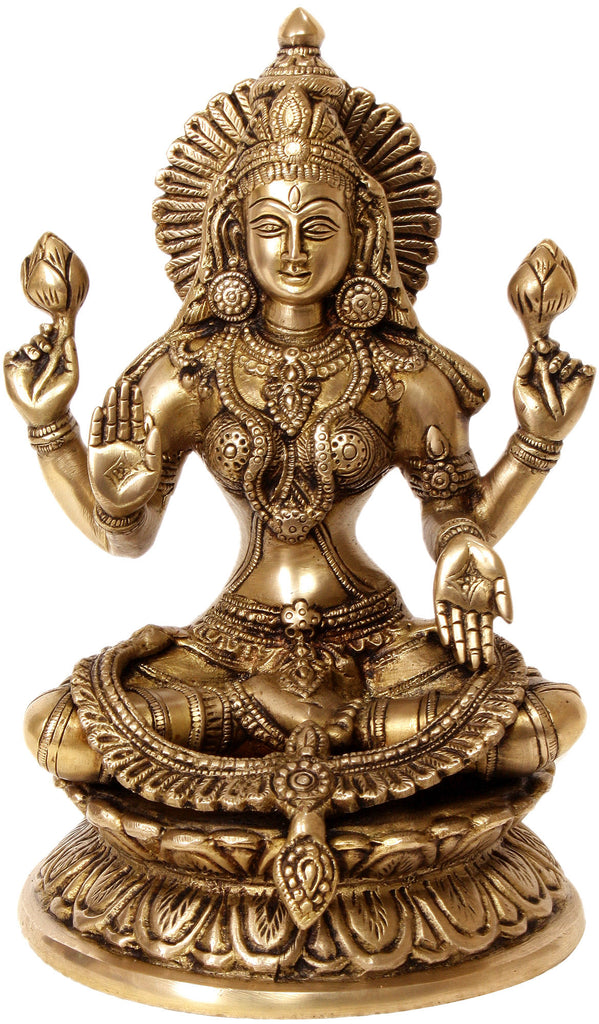 Four-Armed Lakshmi in Abhaya-Mudra