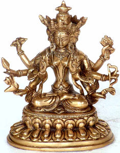 (Tibetan Buddhist Deity) Four-Headed Tara