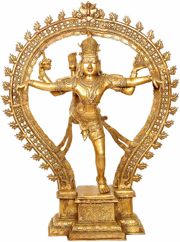 (Large Size) Shiva, The Nataraja in Ananda-Tandava