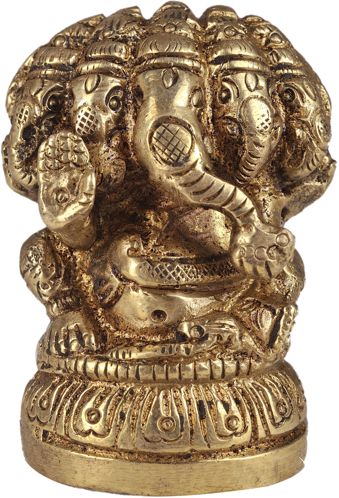 Five-Headed Ganesha Seated Ganesha
