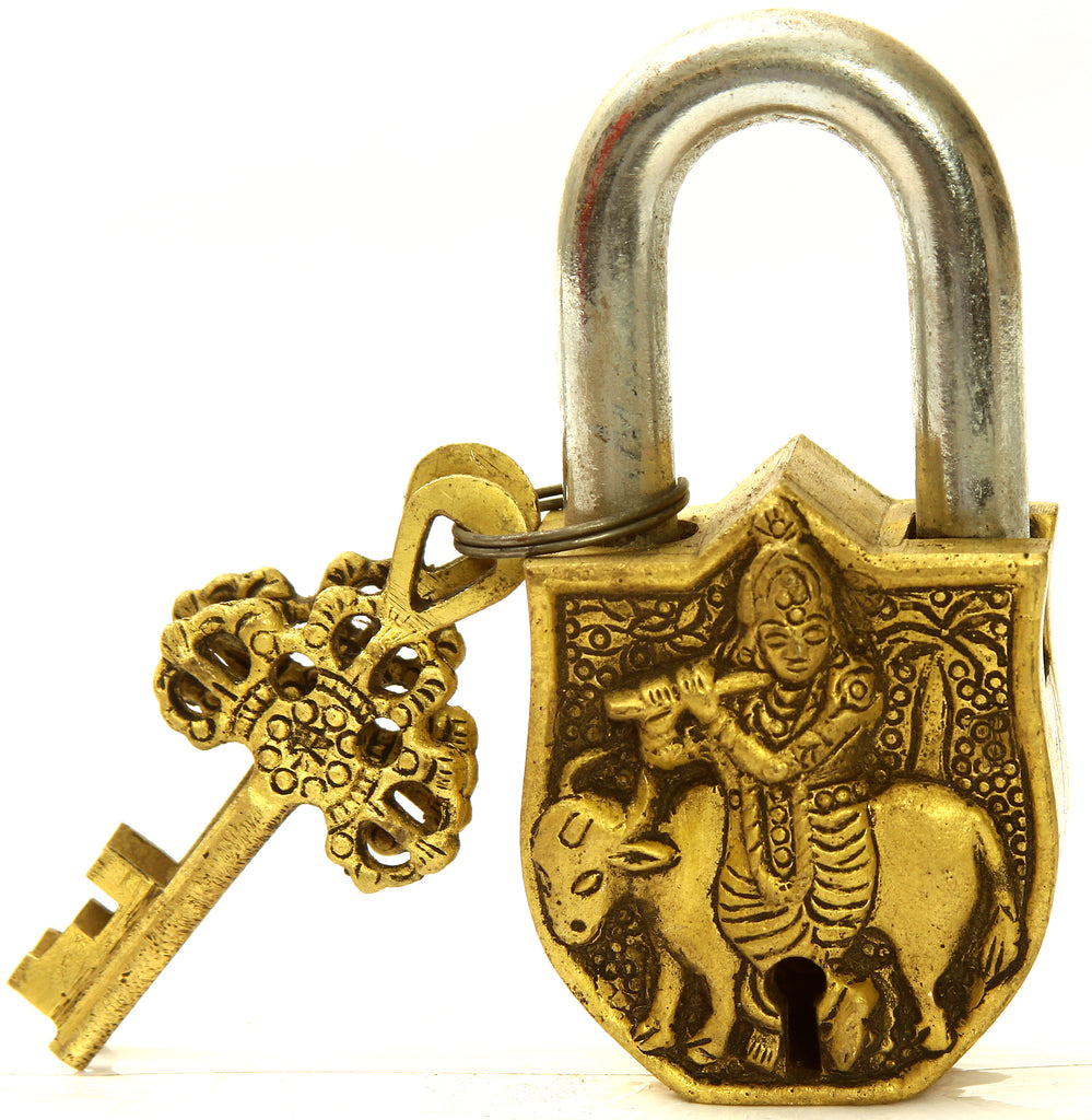 Lord Krishna Temple Lock Keys