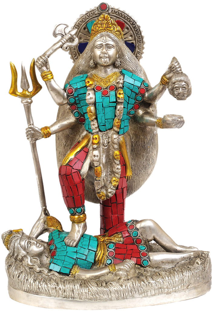 Mother Goddess Kali (Inlay Statue)