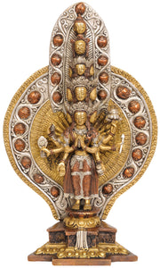(Tibetan Buddhist Deity) Eleven Headed Thousand Armed Avalokiteshvara