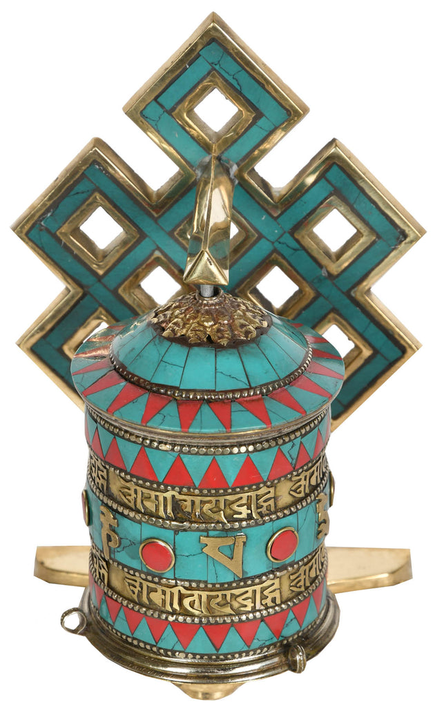 Made in Nepal Prayer Wheel (Tibetan Buddhist)