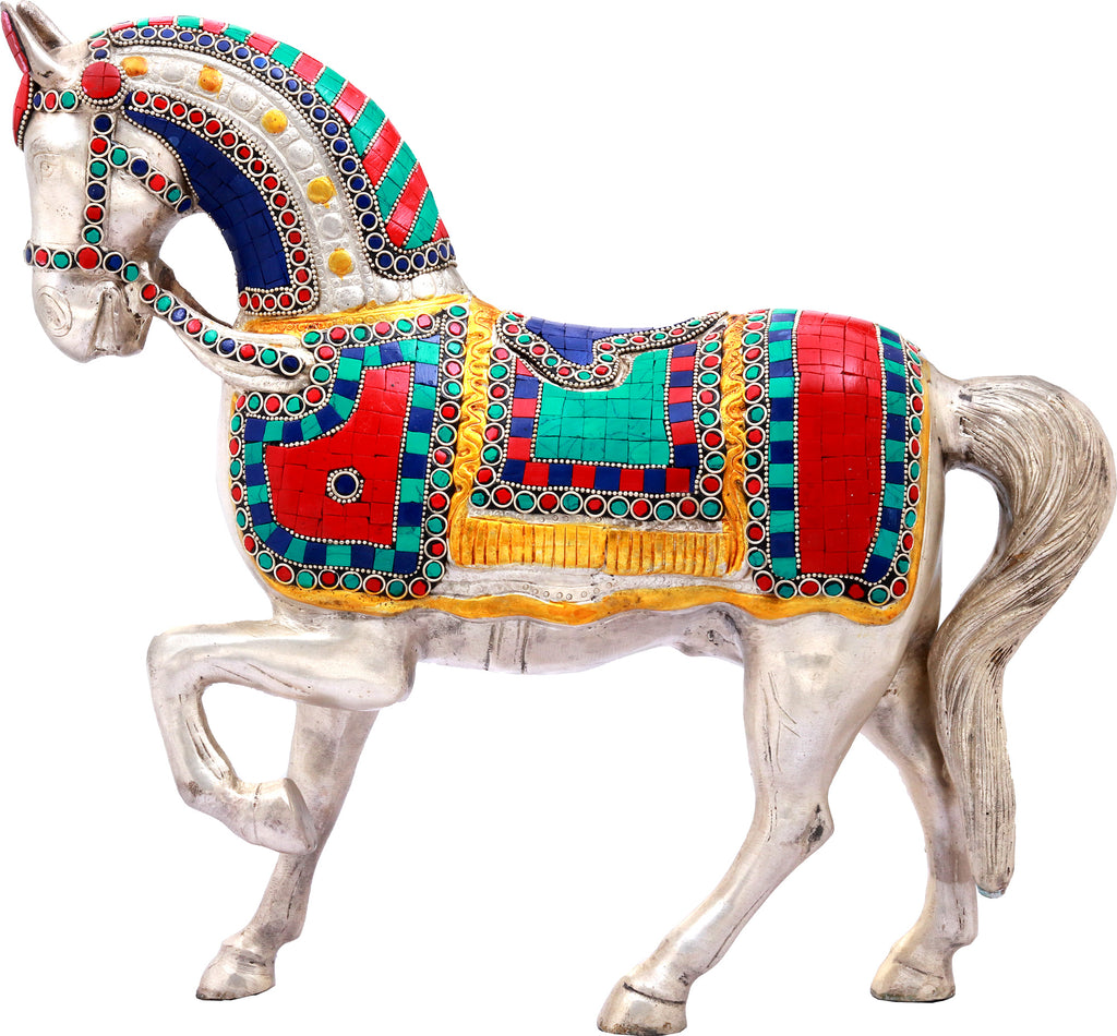 Decorated Walking Horse