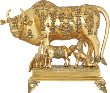 Abode Of The Devagana, The Cow