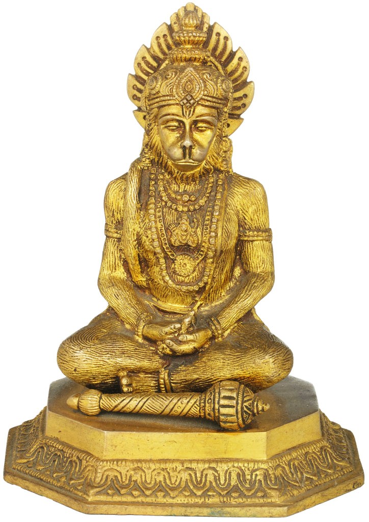 Lord Hanuman in Meditation