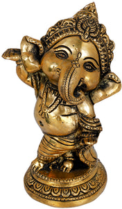 Adorable Baby Ganesha - Small Statue