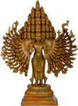 The Majestic Lord Sadashiva, Shiva of Great Cosmic Beauty Bronze Statue