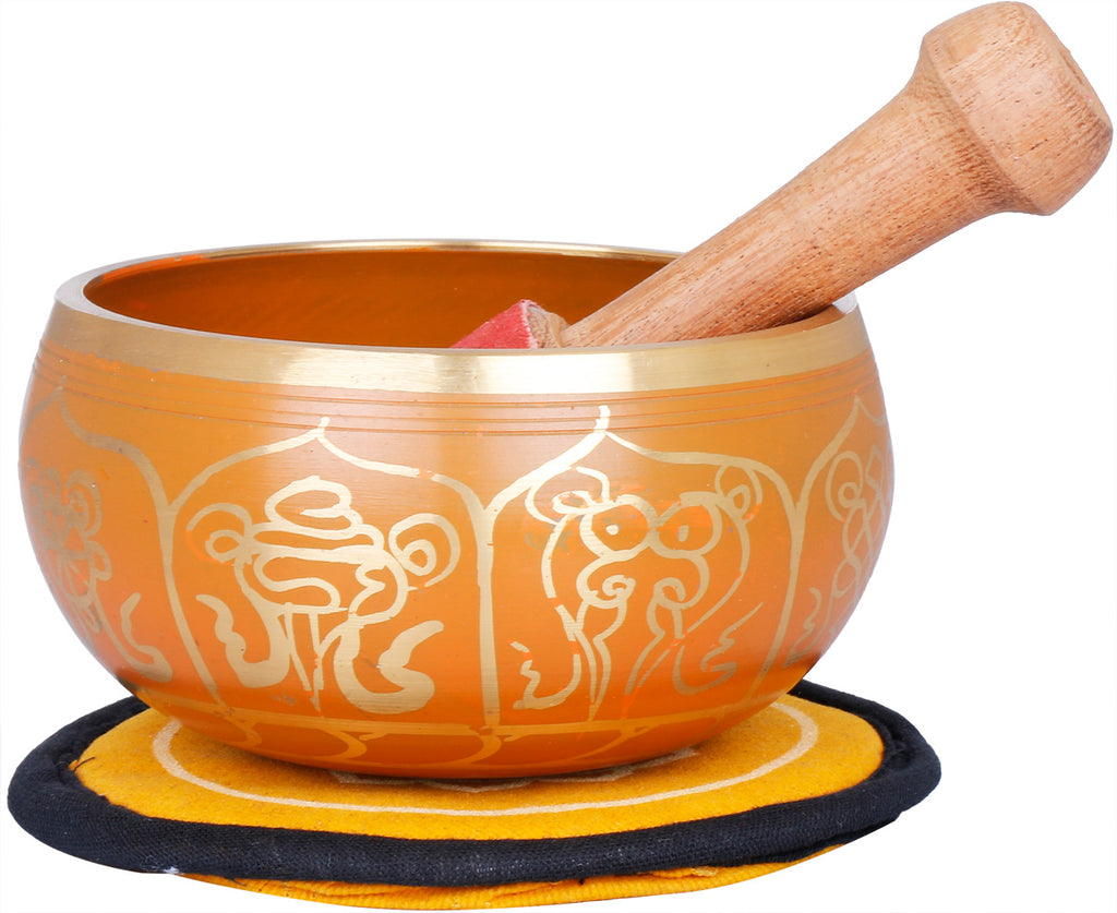 Tibetan Buddhist Auspicious Singing Bowl