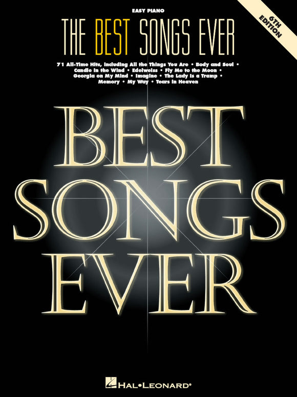 The Best Songs Ever 6th Edition