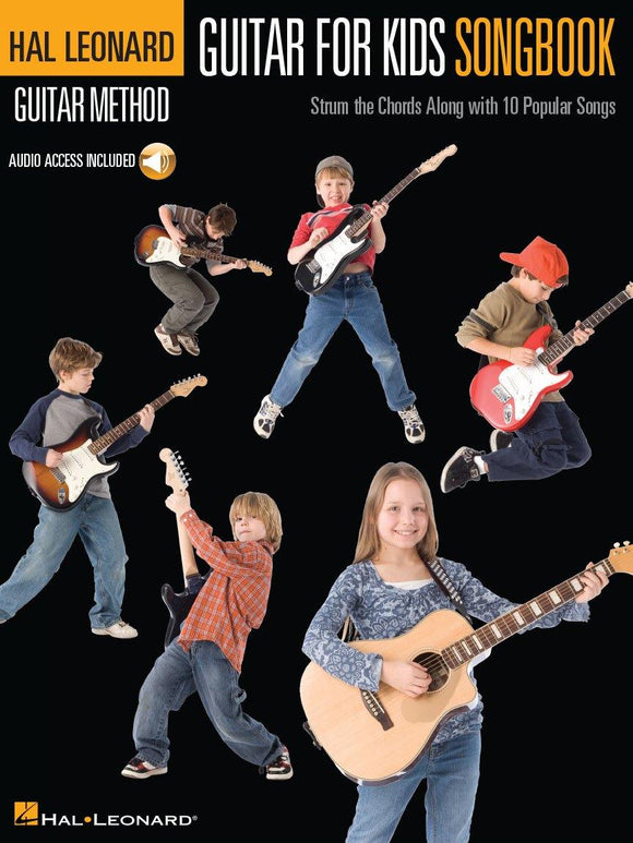 Guitar for Kids Songbook Hal Leonard Guitar Method