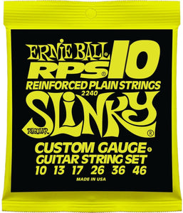 Ernie Ball RPS Reinforced Slinky Nickel Wound Electric Guitar Strings