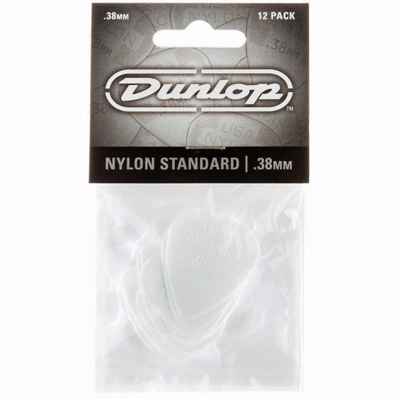Dunlop Nylon Standard Guitar Picks 12-Pack