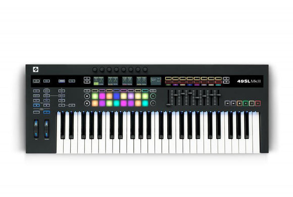 Novation 49-key SL Keyboard Controller with Semi-weighted Keys