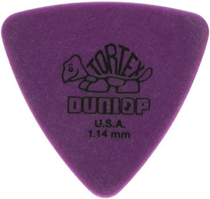 Dunlop Tortex Triangle Picks, 6 Pack
